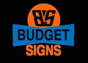 Budgetsign